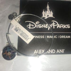 Alex and Ani Mickey Mouse Passport Bangle ~ NWT